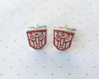 Transformers Autobot Cufflinks Cuff Links in Silver