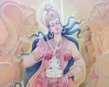lakshmi necklace - neckalce - yoga inspired jewelry - lakshmi charm