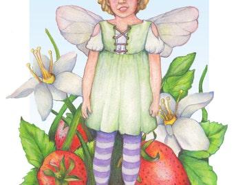 Child's Fairy Portrait