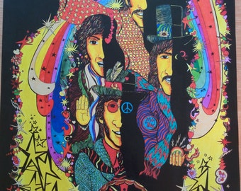 Magical Mystery Tour - Beatles Poster