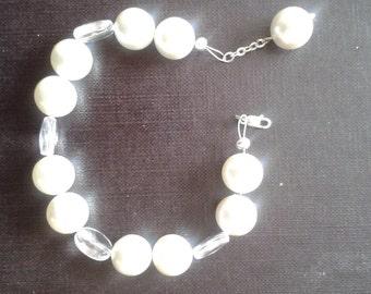 Hand made bracelet - semi precious gemstones