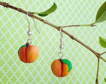 Clay Peach Earrings
