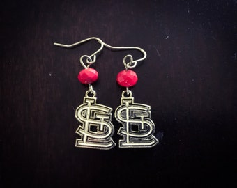 St Louis Cardinals Earrings