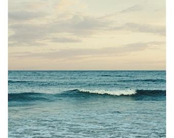 Ocean Art Print - Summer waves photo print