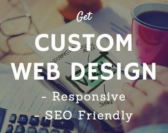 Custom Web Design, Portfolio website, Business webiste designers, catalog web site, Professional website development, Quick website design