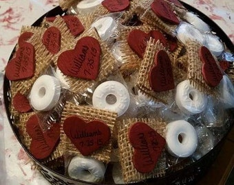 100 Wedding Favor Mints