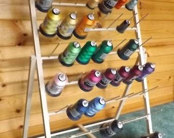 Embroidery Thread Spool Storage Rack