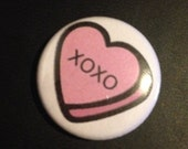 xoxo 1 Inch Pin