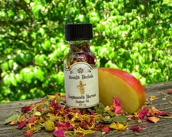 Lughnasadh Harvest Sabbat Oil - Lammas, Prosperity, Abundance, Fall Bounty, Fruitfulness, Lugh, Corn King, Cauldron Brew, Pagan