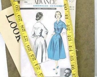 Vintage Designer Dress Pattern | American Designer Original