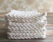 Cotton Crochet Face Scrubbie