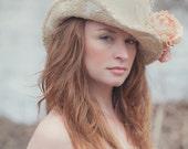 Vintage Lace Top Hat