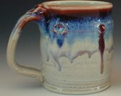 Handmade Coffee Mug Porcelain Pottery