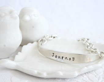 Journey ID Bracelet from Girl Ran Away With The Spoon