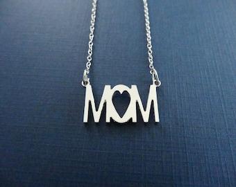 Mom Necklace - Mom Jewelry - Mom Pendant