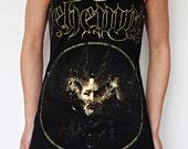 Behemoth shirt tunic top mini dress black metal clothing alternative apparel altered band tee t-shirt Satanist satanic clothing rocker