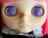 Lavender Mix Scatter Resin Eye Chips for Blythe Dolls
