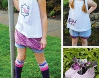 Indygo Junction IJ922 - Bubble Shorts, Hat & Shoesies Pattern - Violet Craft Design