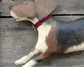 Rosie, A Primitive, Folk Art Dog Pattern, from Raven's Haven