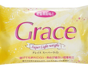 Grace Super Light Weight Clay - No Bake Clay - Decoden Clay