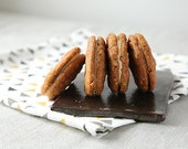 Peanut Butter Sandwich Cookies, Sandwich Cookies with Sea Salt and Massaman Spices