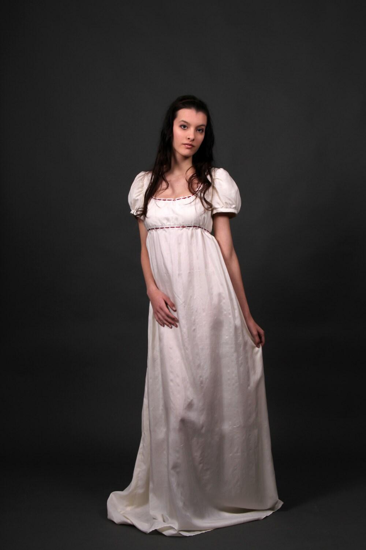 Desiree Regency Dress Romantic Wedding Dress Empire Waist