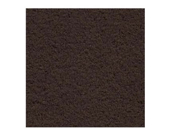 Ultrasuede Beading Foundation or Backing 43284 , Coffee Bean Brown, 8.5 Inch, Ultra Suede Cabochon Backing, Bead Backing, Microfiber Fabric