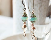 Summer dream - beaded earrings