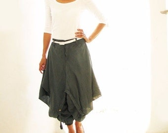 Hanna funky Skirt over pants...All colors mix silk (3 sizes M, L,XL) (355)