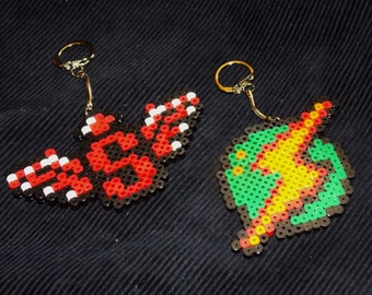 Contra, Metroid Perler Key Chain, Backpack Decoration