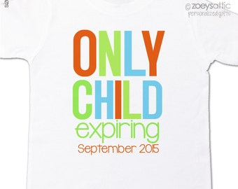 Only child exiring big brother to be pregnancy announcement Tshirt