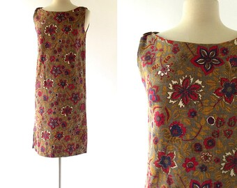 Vintage 1960s Dress / Bramble Cottage / 60s Dress / XS S