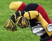 Golf Club Covers Knitting Pattern - PDF
