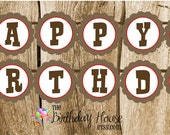 Farm Friends Party - Custom Horse Happy Birthday Banner by The Birthday House