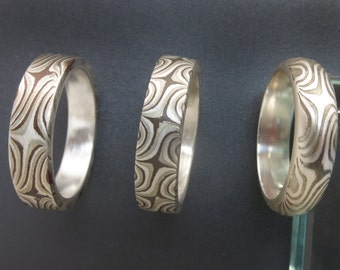 Mokume Ring Special Size 8.5