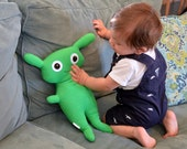 Custom Plush Monster Stuffed Animal - Baahbert