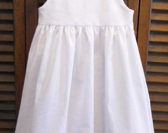 Waisted christening, baptism, blessing gown slip.