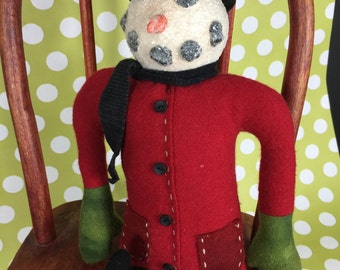 Snowman- Original, Handmade
