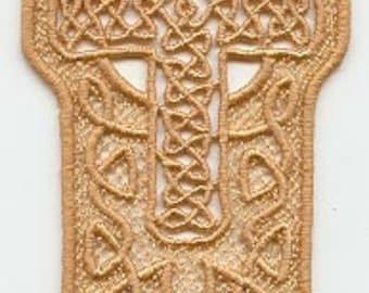 celtic cross bookmark