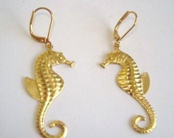 Seahorse Dangle Earrings