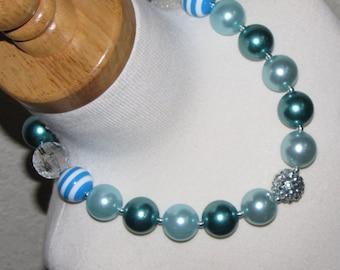 new Acrylic chunky beads bubblegum gumball jewlery girl Necklace Birthday elsa Free shipping