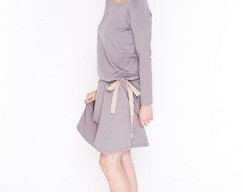 LeMuse Cappuccino Summer dress Bow