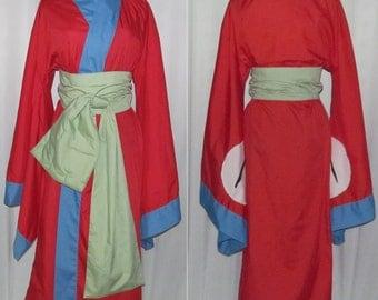 Princess Fuse Costume Okami Canine Warriors Cosplay Adult Women's Custom Fit Size 4 6 8 10 12 14