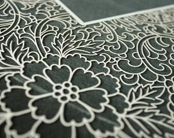 Ketubah Papercut by Jennifer Raichman - Trellis