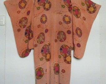 vintage 1910's TAISHO Kimono antique ART NOUVEAU, pre 1920s stunning