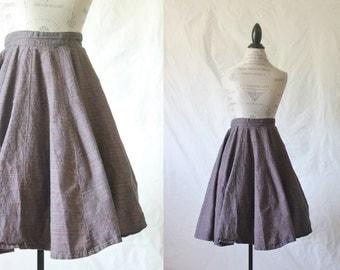 c1950's Circle Skirt XS/S