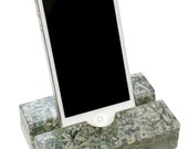 Groove iPhone Stand, Cell Phone Stand, Mobile Device Stand- Witty, Money-Embedded Resin