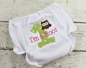 Monogrammed Bloomers, Diaper Cover, Personalized, Nappy Cover, Knit with Ruffles, Custom Made