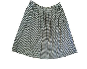 SALE Houndstooth Midi Skirt
