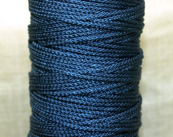 Bulk Cording! 10 Feet of 1mm Montana Blue Cording. CRD4000